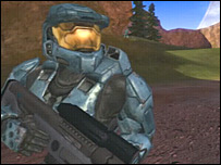 Still from Red versus Blue