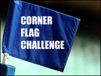 Corner flag challenge