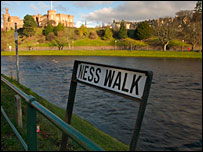 River Ness. Picture by Iain Maclean