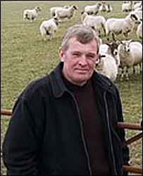 Farmer Brian Armstrong. Picture by Jennifer MacKenzie