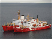 Coast Guard vessels (BBC)
