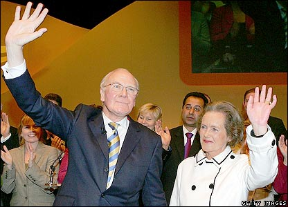Sir Menzies Campbell and his wife, Lady Elspeth Campbell