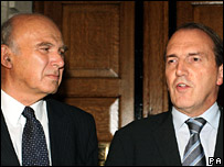 Vincent Cable and Simon Hughes