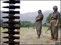 PKK members in northern Iraq (20 June 2007)