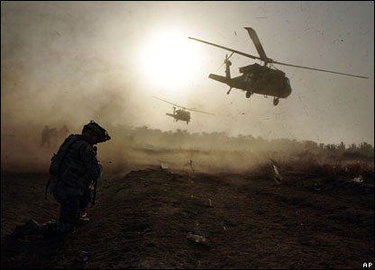 US helicopters in Iraq