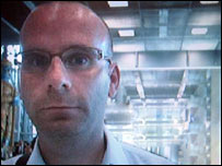 Image of suspect shown on Interpol website
