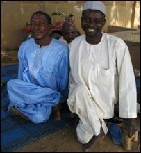 Awolo (l) and  Aminu (r)