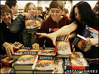 Pottermania in action