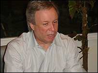 Daniel Peralta, gobernador de Santa Cruz