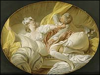 The Beautiful Servant (Pointless Resistance) by Jean-Honor� Fragonard