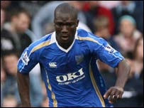 Portsmouth and Senegal's Papa Bouba Diop