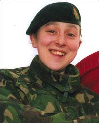 Lance Corporal Sarah Holmes