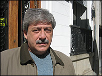 Eduardo Buzzi, presidente de la Federaci�n Agraria Argentina