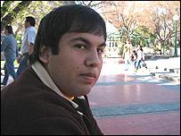 """Hugo Guti�rrez, """"puntano"""""""