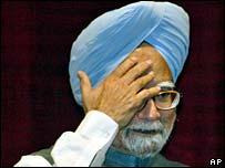Manmohan Singh, at Bhabha Atomic Research Centre (BARC) Training School  in Mumbai 31 August 2007