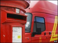Postbox and van