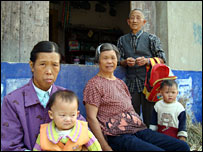 Villagers in Hubei province