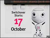 The campaign robot for digital switchover