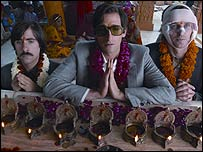 Jason Schwartzman, Adrien Brody and Owen Wilson in The Darjeeling Limited
