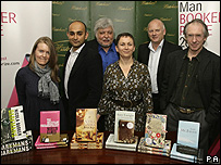 2007 Booker prize nominees