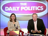 Andrew Neil with Jenny Scott