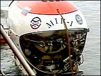 Minisubmarino ruso MIR-1
