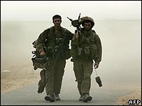 Israeli troops leaving Gaza after incursion