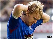 Rangers defender Steven Smith