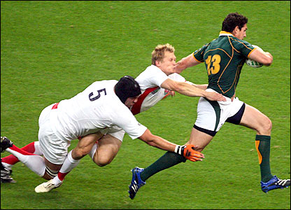 England crashed to a 36-0 defat to South Africa