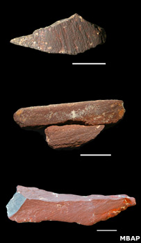 Ochres (Mossel Bay Archaeology Project)