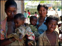 Women at a family planning clinic in Madagascar (image: Population Action International)