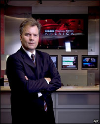 BBC World News America presenter Matt Frei