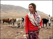 Chica kurda