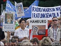 Radio Maryja listeners during a pilgrimage in Czestochowa. File photo