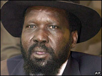 South Sudan's leader Salva Kiir