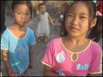Children on the outskirts of Beijing