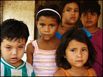 Children living in the same house as Carla Cinthia Carrasco