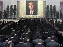 Memorial service for Chen Chi-li, 18/10