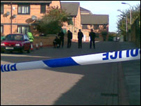 BBC staff picture of shooting scene