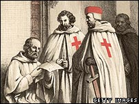 Later image of Templars