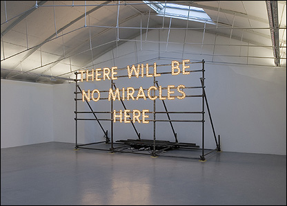 Nathan Coley's There Will Be No Miracles Here