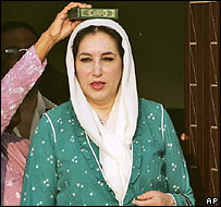 Benazir Bhutto in Pakistan
