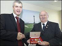 Derek Twigg MP and Harry Francis