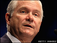 US Secretary of Defense Robert Gates