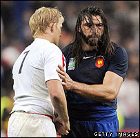 Lewis Moody and Sebastien Chabal