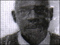 Photograph of Dominique Ntawukuriryayo circulated by Interpol