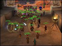 Screenshot from World of Warcraft, Blizzard