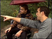 James White-Doyle teaching fishing