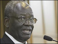 Ibrahim Gambari, the UN envoy to Burma