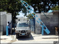 UN Compound in Mogadishu (17 October 2007)